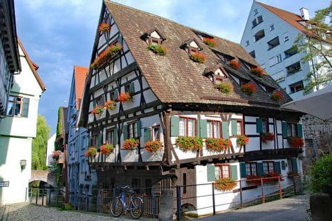 Ulm Fischerviertel Fachwerkhaus