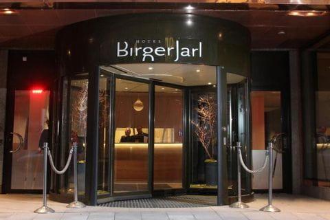 Hotel Birger Jarl - Eingang