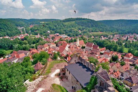 View over Pappenheim