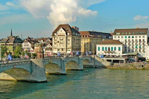Stadtansicht Basel