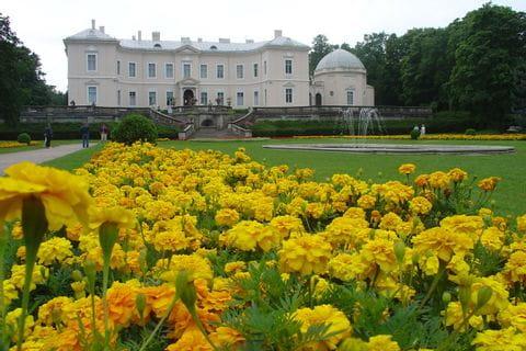 Palanga botanical park - amber museum