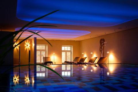 Indoor pool Romantik Jugendstil Hotel Bellevue