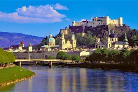 Ausblick auf die Salzburger Festung