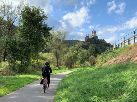 bike path to Cochem
