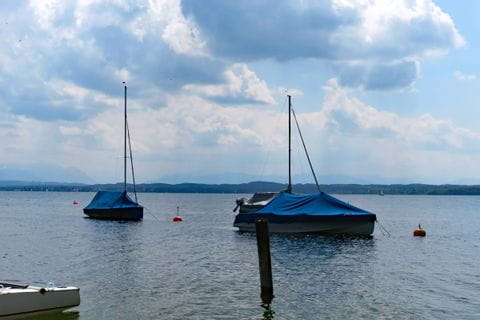 Boote am Starnberger See