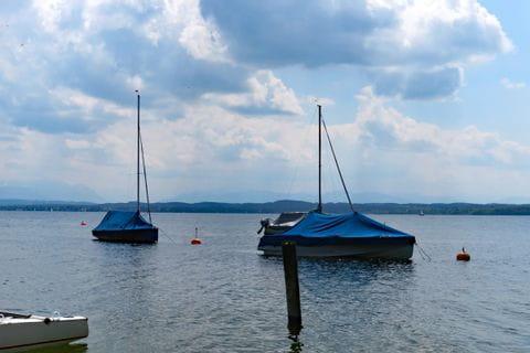 Boats at Lake Starnberg
